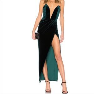 Michael Costello high cut dress